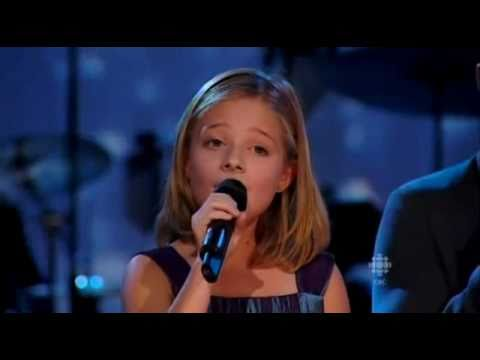 Jackie Evancho performs Silent Night with the Canadian Tenors (12.13.2010)