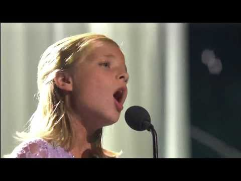 Jackie Evancho @10, classical crossover singer on America`s Got Talent
