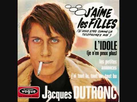 JACQUES DUTRONC j`aime les filles 1967