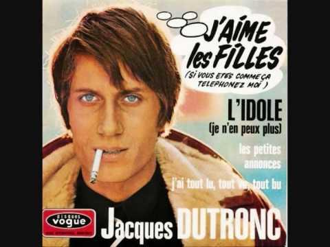 JACQUES DUTRONC j`aime les filles 1967