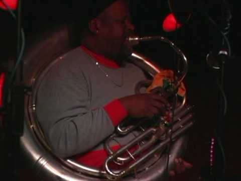 Jambalaya Brass Band -Blackbird Special pt 2 with Kirk and Charles Joseph@ Sullivan Hall 1-28-10