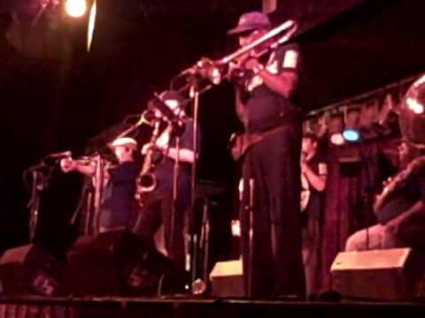Jambalaya Brass Band performing Buddy Bolden Blues @ BB King Blues Club