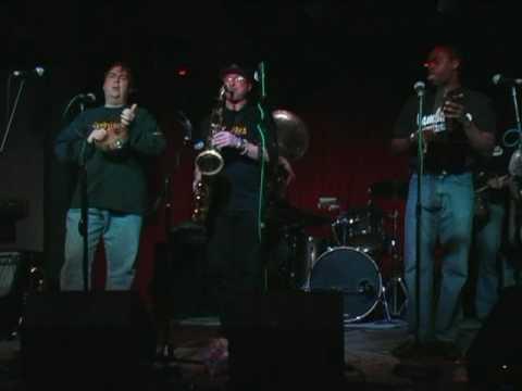 Jambalaya Brass Band live @ Sullivan Hall 1-28-10, Kidd Jordan`s 2nd line