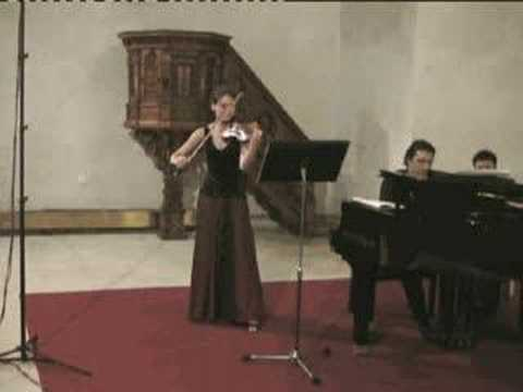 Janacek - Violin Sonata - Adagio