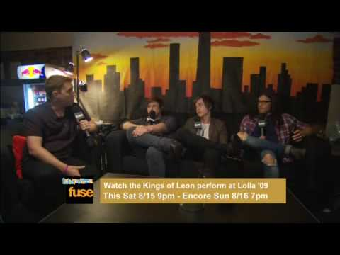 Fuse Interviews Kings of Leon at Lollapalooza 09