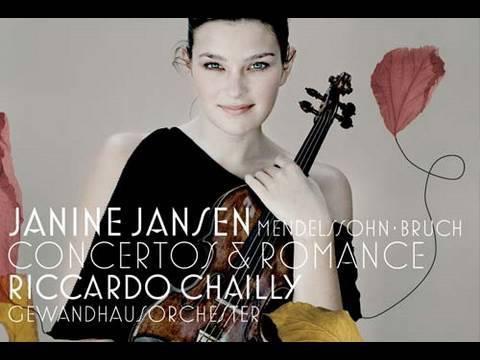 Janine Jansen: Mendelssohn & Bruch - Concertos and Romance