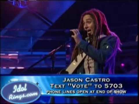"FINAL 4- Jason Castro- ""I Shot The Sheriff""- May/6/2008-Idol"