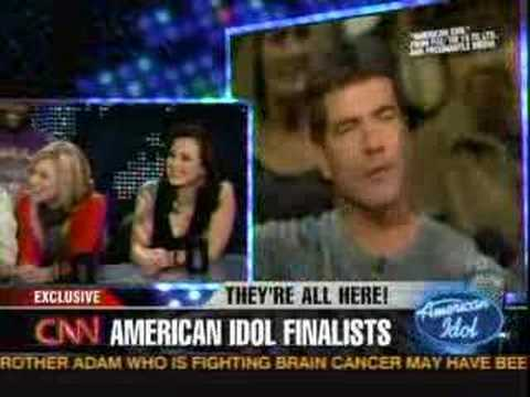American Idol on Larry King (5.23.08) Q&A Pt 4