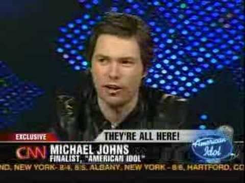 American Idol on Larry King (5.23.08) Q&A Pt 5