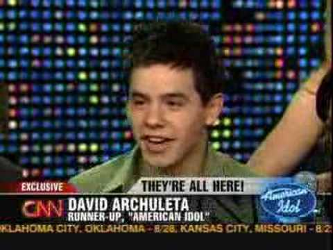 American Idol on Larry King (5.23.08) Q&A Pt 3