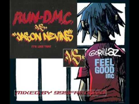 GORILLAZ - FEEL GOOD INC VS RUN DMC - ITS LIKE THAT