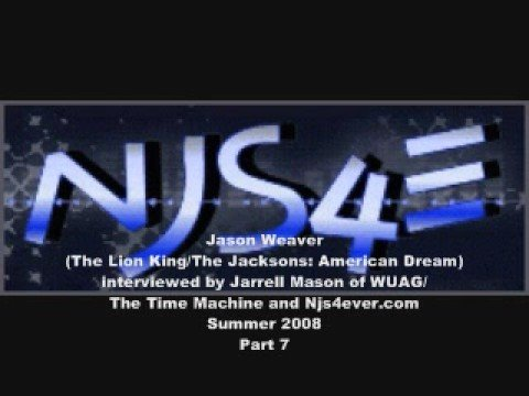 Jason Weaver Interviewed by Jarrell Mason Pt. 7