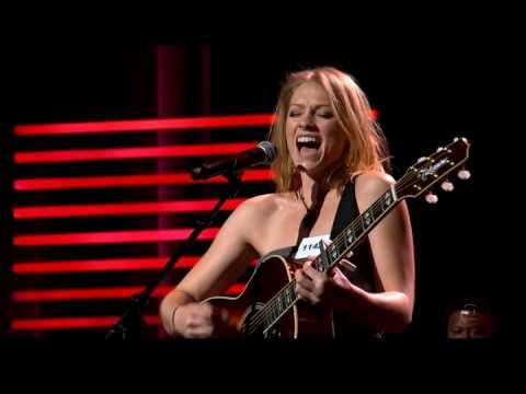 """Terrified"" performed by Didi Benami, written by Kara DioGuardi and Jason Reeves."