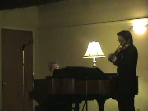 The Lover`s Waltz, Solo Violin and Piano