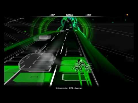 Let�s Play Audiosurf [WAZ - Superman]