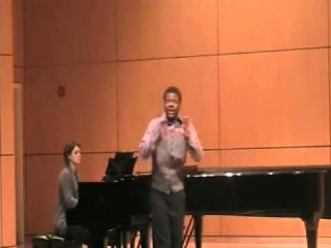 "Erick Carter sings ""Don`t Let Me Go"""