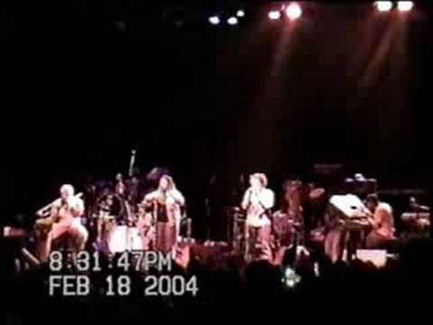 "Floetry w/George ""Spanky"" McCurdy, Jeff Bradshaw, Thaddaeus Tribbett , Parris ""Diddy"" Bowens Live In Denver Colorado @ the Filmore Pt 4"