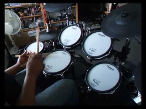 `Jeff Porcaro`s Rosanna Groove` V-Drums Demo - Martin Rockport