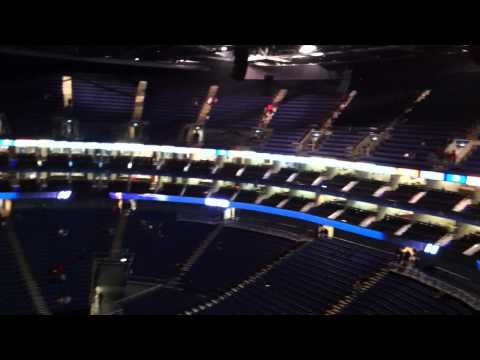 The O2 Arena Level 4 Block 404 Row G
