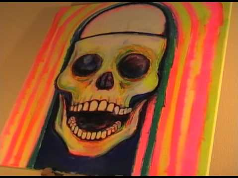 PUNK IS DEAD ~ jeffrey lewis [painting by cheekychen]