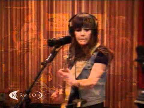 "Jenny and Johnny performing ""Just One Of The Guys"" on KCRW"