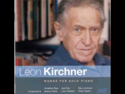 LEON KIRCHNER: Interlude No. 1 for Solo Piano (1989) - Peter Serkin