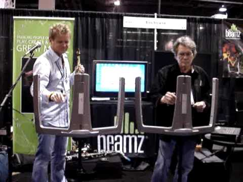 Euge Groove & Jerry Riopelle - Beamz Performance @ 2010 NAMM