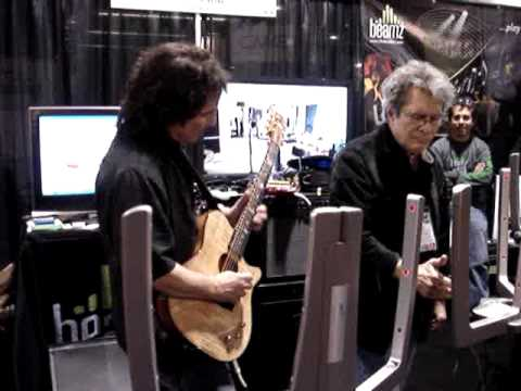 Craig Chaquico & Jerry Riopelle - NAMM - Cafe Carnival