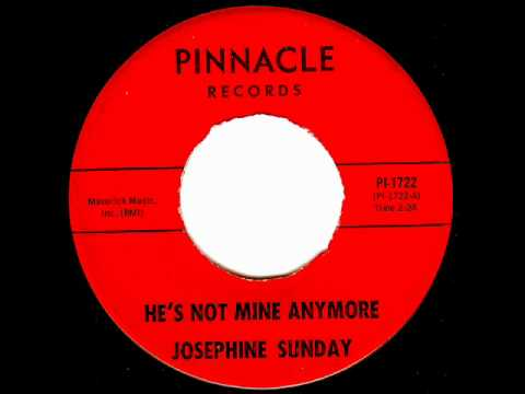 Josephine Sunday - HE`S NOT MINE ANYMORE (1964)