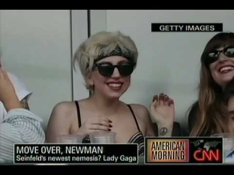 CNN`s Take On Jerry Seinfeld Versus Lady GaGa