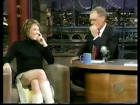 Sheryl Crow Interview 1999 Letterman