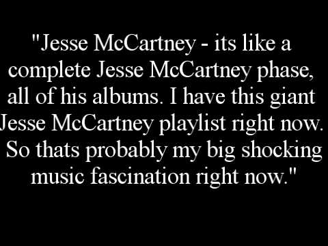 Taylor Swift on Her Love for Jesse McCartney