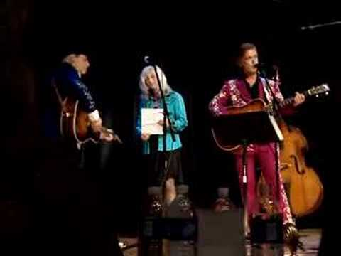 "Jim Lauderdale, Emmylou Harris Buddy Miller ""Satisfied Mind"""