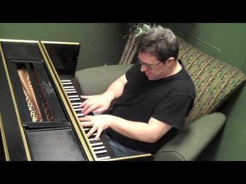 Ian Playing a Harpsichord!!