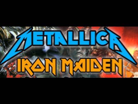 Iron Maiden/Metallica Headlining Sonisphere