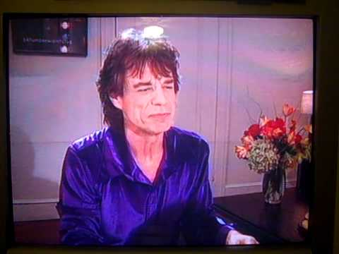 Mick Jagger & Jimmy Fallon Reflection in Mirror SNL Dec 8 2001.MP4