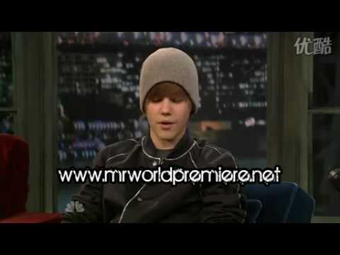 Justin bieber on Jimmy Fallon Show