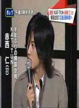 Jin Returns, Kame, Koki comment - press talk (long clip)