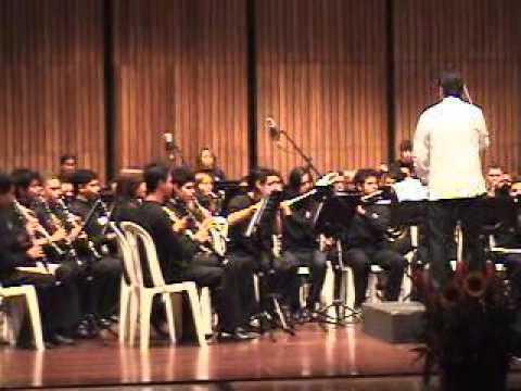 El se�or de los anillos (gandalf) - Banda sinfonica RED de escuelas de musica de medellin