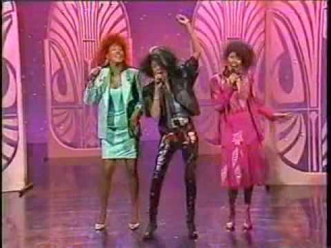The Pointer Sisters - Promoting the Contact album