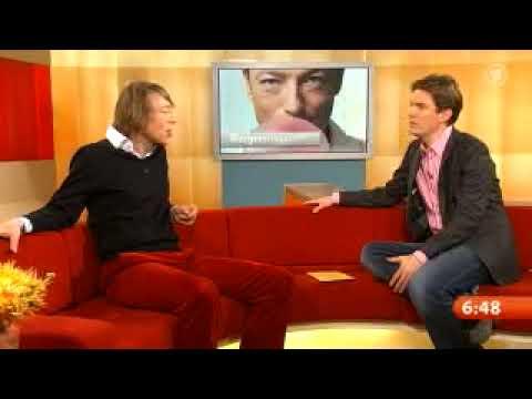 Jochen Distelmeyer (im Fr�hst�cksfernsehen am 10.11.2009, Teil 1)