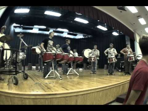 Harpeth High Drumline closer 2010 -Bill Bachman