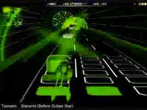 Audiosurf: Starwind (From Toonami; Outlaw Star theme)
