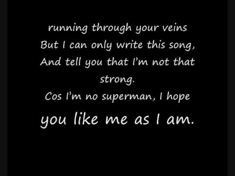 Joe Brooks - Superman (lyrics)