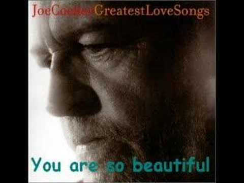 Joe Cocker - You are so beautiful (HQ Audio)