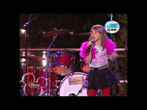 Disney Channel My camp rock La final. Prueba 4. (Lucia Gil) Two Stars Final Jam