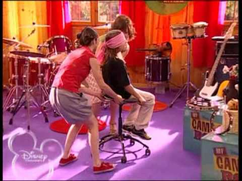 Disney Channel My camp rock La final. Prueba 3. (Lucia Gil) Two Stars. Clase de canto