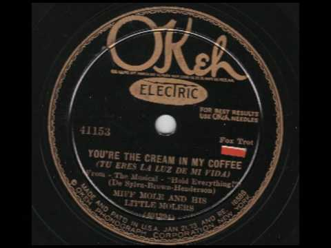 Miff Mole & His Little Molers - You`re The Cream In My Coffee - OKeh 41153