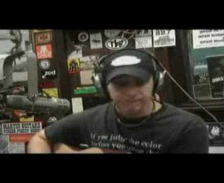Solo Acoustic Song at WPKN`s Singer Circle - Marc Amendola of Fear The State
