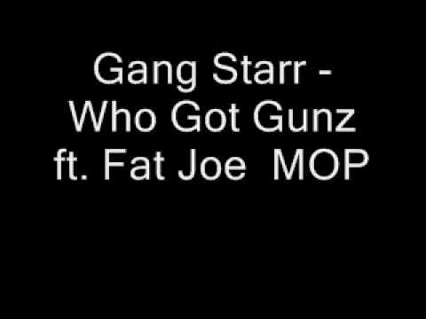 Gang Starr Who Got Gunz ft Fat Joe MOP instrumental